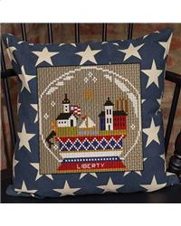 click here to view larger image of Patriotic Summer Series - Liberty Snow Globe (chart)