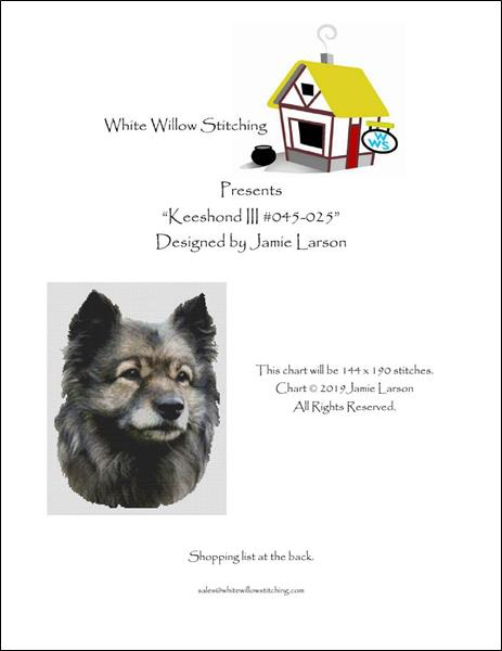 click here to view larger image of Keeshond (chart)