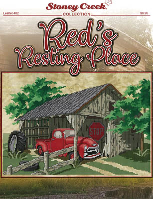 click here to view larger image of Reds Resting Place (chart with charms/buttons)