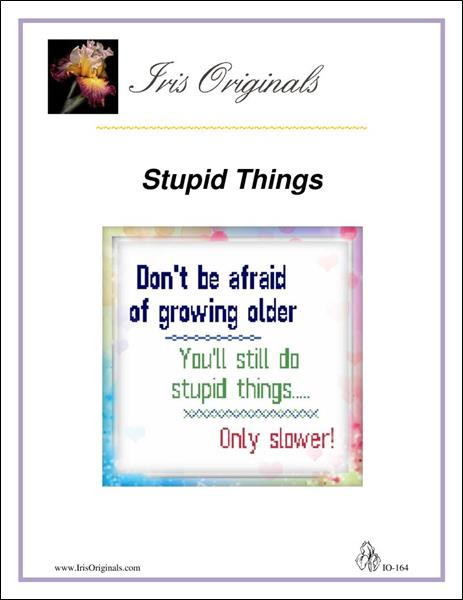 click here to view larger image of Stupid Things (chart (special))