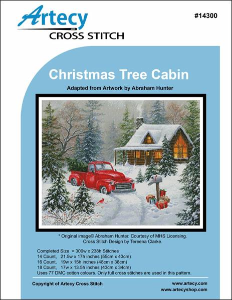 click here to view larger image of Christmas Tree Cabin (chart)