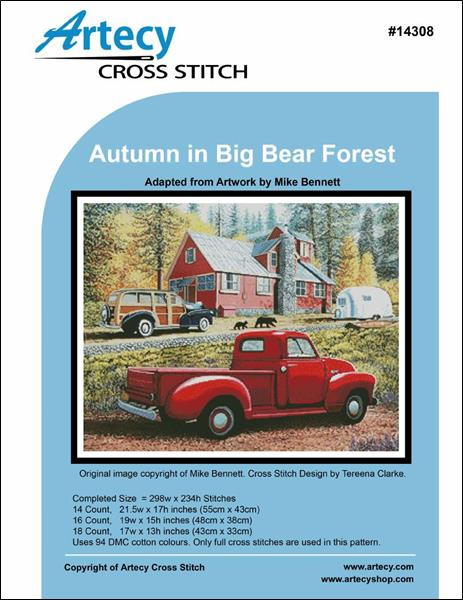 click here to view larger image of Autumn in Big Bear Forest (chart)