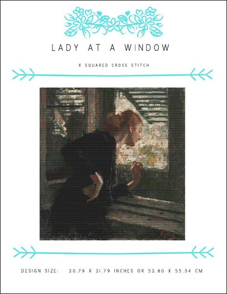 click here to view larger image of Lady at a Window (chart)