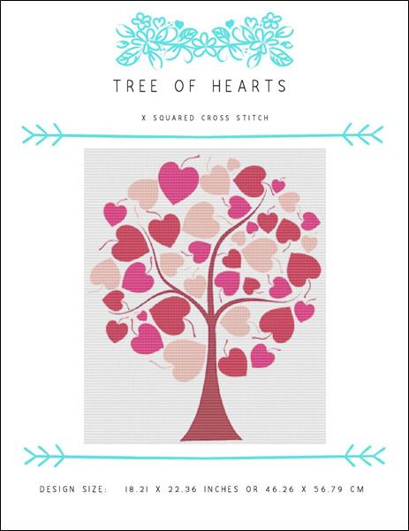 click here to view larger image of Tree of Hearts (chart)