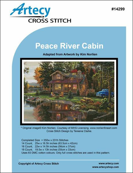 click here to view larger image of Peace River Cabin (chart)