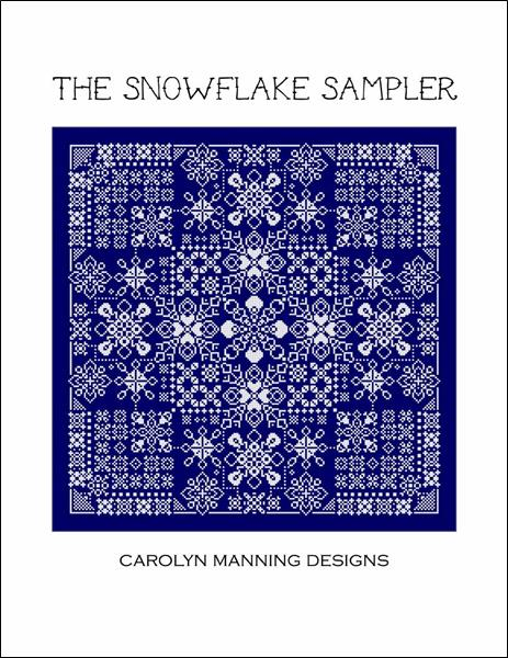 click here to view larger image of Snowflake Sampler, The (chart)