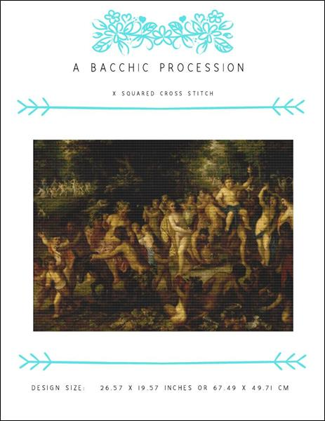 click here to view larger image of Bacchic Procession, A (chart)