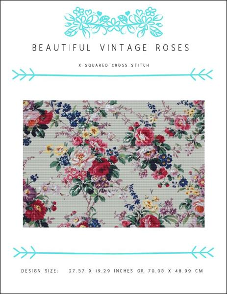 click here to view larger image of Beautiful Vintage Roses (chart)