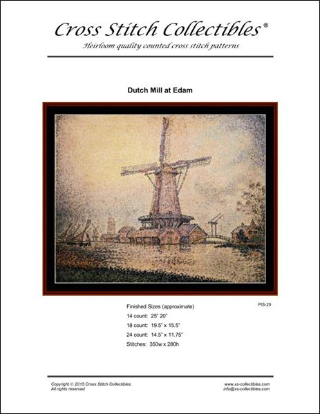 click here to view larger image of Dutch Mill at Edam (chart)