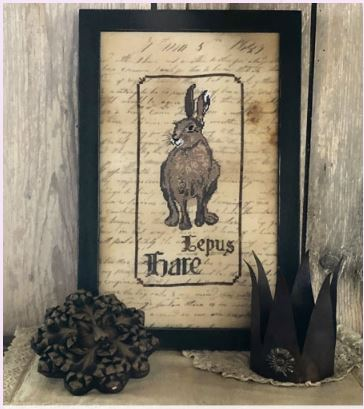 click here to view larger image of Spirit Of The Woods - Hare (chart)