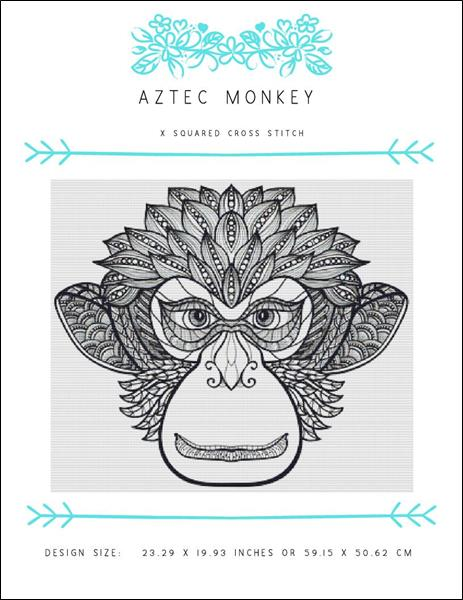 click here to view larger image of Aztec Monkey (chart)