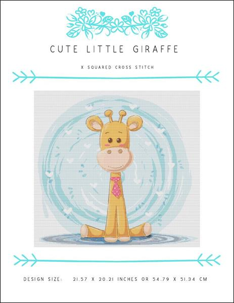 click here to view larger image of Cute Little Giraffe (chart)
