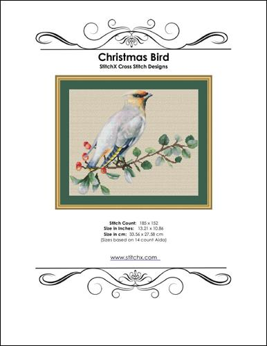 click here to view larger image of Christmas Bird (chart)
