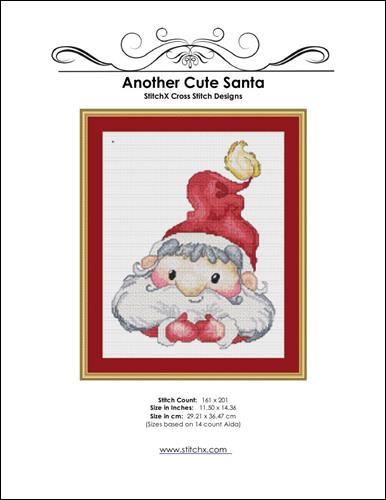 click here to view larger image of Another Cute Santa (chart)
