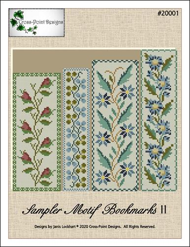 click here to view larger image of Sampler Motif Bookmarks II (chart)