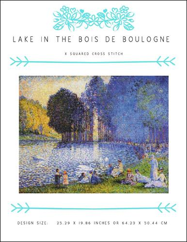 click here to view larger image of Lake in the Bois de Boulogne (chart)