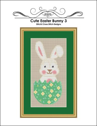 click here to view larger image of Cute Easter Bunny 3 (chart)