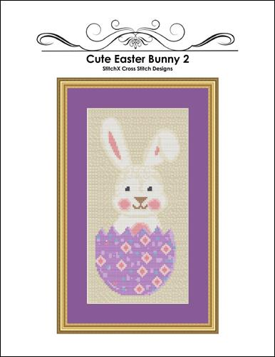 click here to view larger image of Cute Easter Bunny 2 (chart)