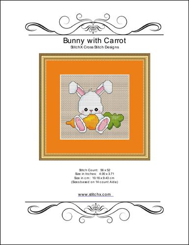click here to view larger image of Bunny With Carrot (chart)
