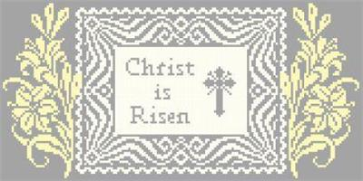 click here to view larger image of Christ is Risen (chart)