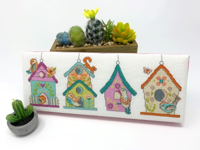 click here to view larger image of Spring Birdhouses (chart)