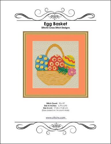 click here to view larger image of Egg Basket  (chart)