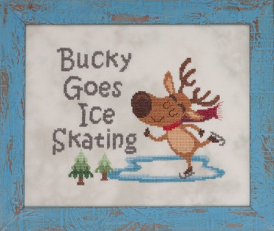 click here to view larger image of Bucky Goes Skating (chart)