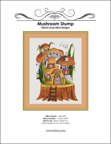 click here to view larger image of Mushroom Stump (chart)