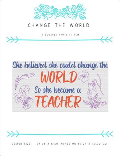 click here to view larger image of Change The World (chart)