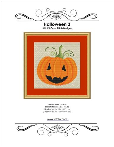 click here to view larger image of Halloween 3 (chart)