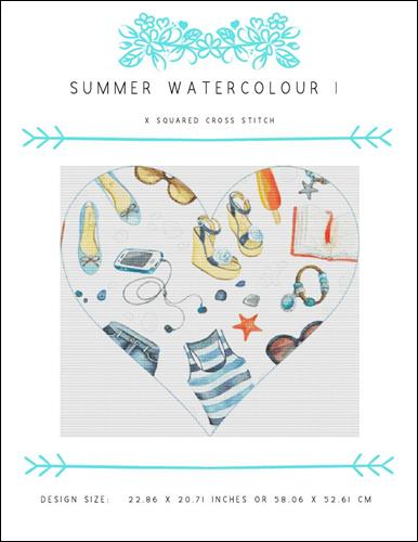 click here to view larger image of Summer Watercolour I (chart)