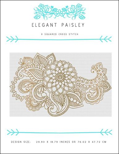 click here to view larger image of Elegant Paisley (chart)