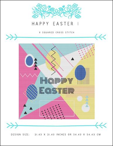 click here to view larger image of Happy Easter I (chart)