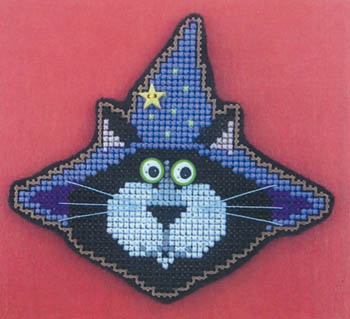 click here to view larger image of Abra Cat Dabra Kit (counted cross stitch kit)