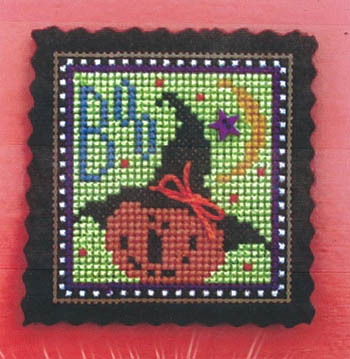 click here to view larger image of Itty Bitty Boo Kit (counted cross stitch kit)