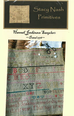 click here to view larger image of Hannah Jenkinson Sampler (chart)