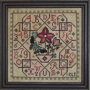 click here to view larger image of Sampler Tile - Pink (chart)