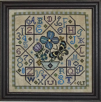 click here to view larger image of Sampler Tile - Blue (chart)
