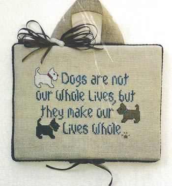 click here to view larger image of Dogs In Our Lives (chart)