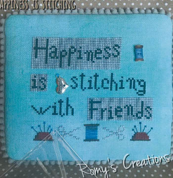 click here to view larger image of Happiness Is Stitching (chart)