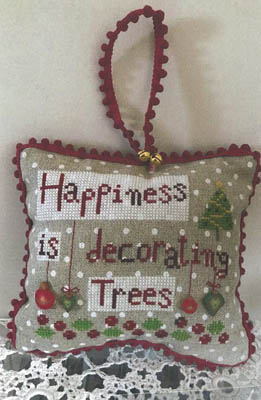 click here to view larger image of Happiness is Decorating Trees (chart)