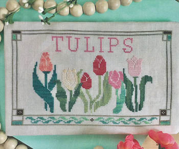click here to view larger image of Fresh Picked Tulips (chart)