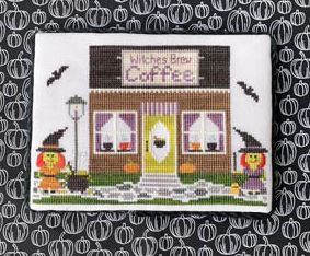 click here to view larger image of Spooky Hollow Series 1 - Witches Brew Coffee Shop (chart)