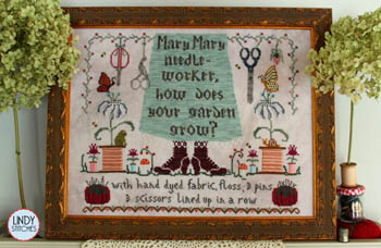 click here to view larger image of Mary Mary Needleworker (chart)