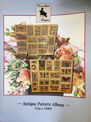click here to view larger image of Antique Pattern Album Circa 1880 (chart)