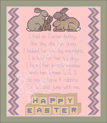 click here to view larger image of I Had An Easter Bunny (chart)
