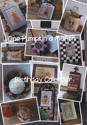 click here to view larger image of One Pumpkin a Month Birthday Calendar (chart)