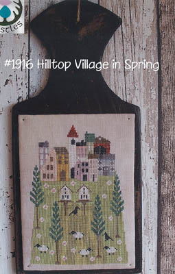 click here to view larger image of Hilltop Village in Spring (chart)