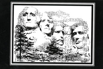 click here to view larger image of Mount Rushmore (chart)