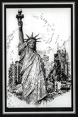click here to view larger image of Lady Liberty (chart)
